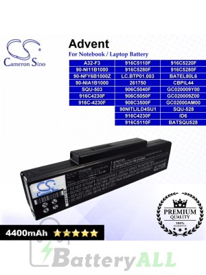 CS-AUF3NB For Advent 7093 QT5500 Laptop Battery