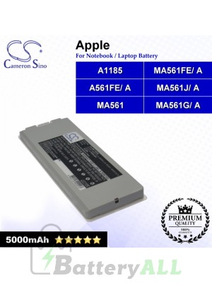 CS-AM1185NB For Apple Laptop Battery Model A1185 / MA561 / MA561FE/ A / MA561G/ A / MA561J/ A
