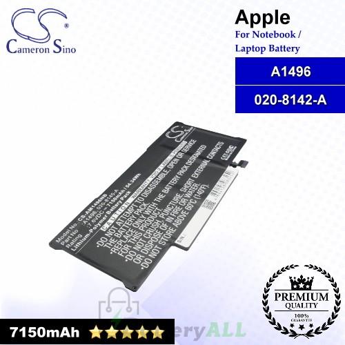 CS-AM1496NB For Apple Laptop Battery Model 020-8142-A / A1496