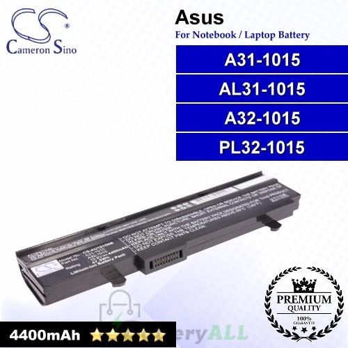 CS-AU1015NB For Asus Laptop Battery Model A31-1015 / A32-1015 / AL31-1015 / PL32-1015 (Black)