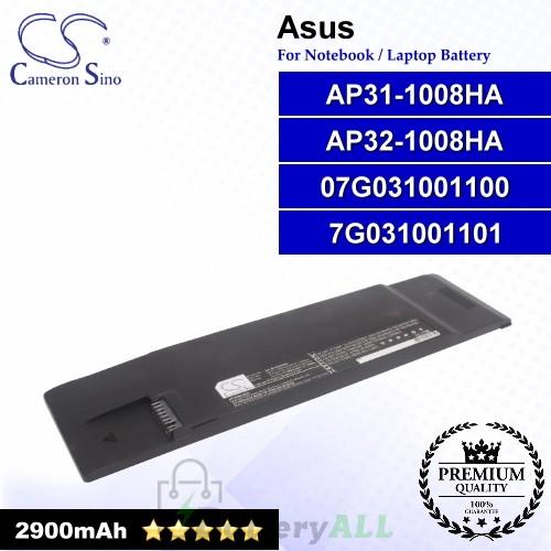 CS-AUA008NB For Asus Laptop Battery Model 70-OA1P2B1000 / 90-OA1P2B1000Q / AP31-1008P / AP32-1008P