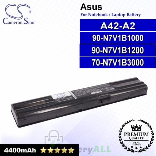 CS-AUA42 For Asus Laptop Battery Model 70-N7V1B3000 / 90-N7V1B1000 / 90-N7V1B1200 / A42-A2