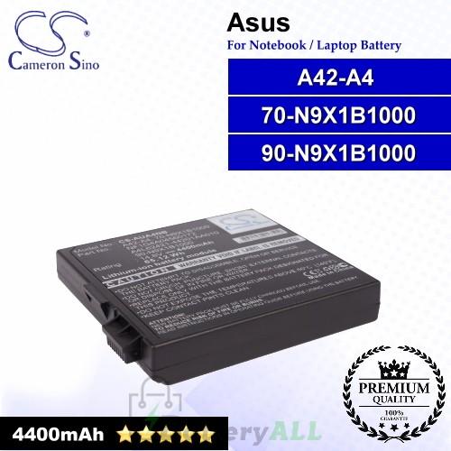 CS-AUA4NB For Asus Laptop Battery Model 70-N9X1B1000 / 90-N9X1B1000 / A42-A4