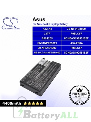 CS-AUA8NB For Asus Laptop Battery Model 70-NF51B1000 / 8CN0AS19255152F / 90-NF51B1000 / 90-NF51B1000Y