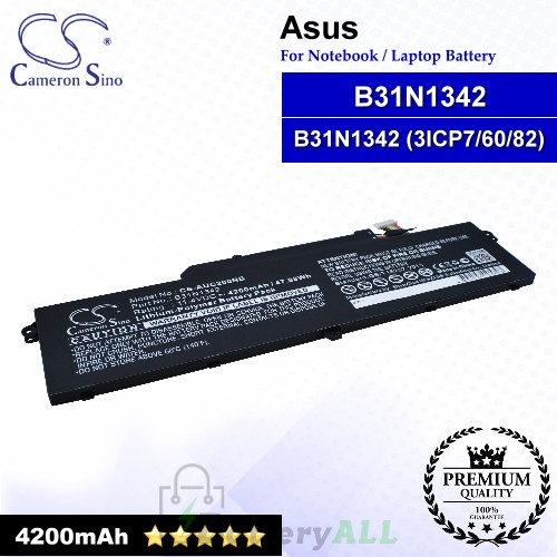 CS-AUC200NB For Asus Laptop Battery Model B31N1342 / B31N1342 (3ICP7/60/82)