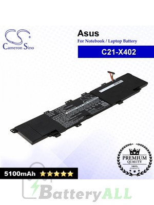 CS-AUF402NB For Asus Laptop Battery Model C21-X402