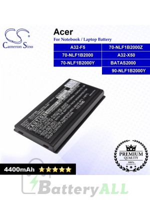 CS-AUF5NB For Asus Laptop Battery Model 70-NLF1B2000 / 70-NLF1B2000Y / 70-NLF1B2000Z / 90-NLF1B2000Y