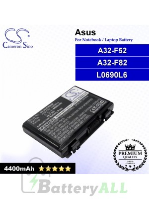 CS-AUF82NB For Asus Laptop Battery Model 07G016761875 / 07G016AP1875 / 07G016AQ1875 / 07G016C41875