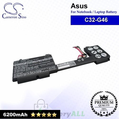 CS-AUG460NB For Asus Laptop Battery Model C32-G46