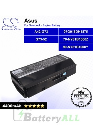 CS-AUG73NB For Asus Laptop Battery Model 07G016DH1875 / 07G016DH1875M / 07G016HH1875 / 07G016HH1875M
