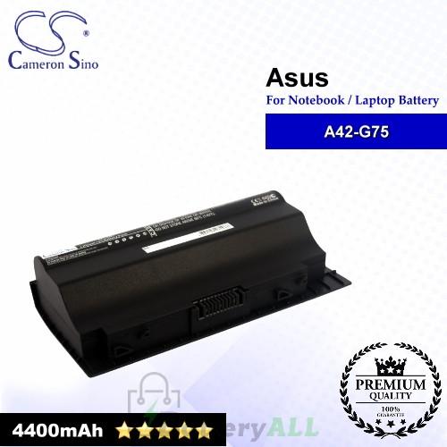 CS-AUG75NB For Asus Laptop Battery Model 0B110-00070000 / A42-G75