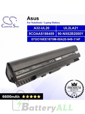 CS-AUL20HB For Asus Laptop Battery Model 07GO16EE1875M-00A20-949-114F / 90-NX62B2000Y / 9COAAS186459