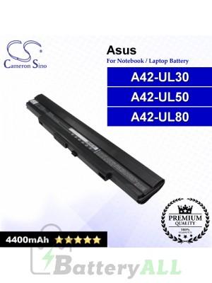 CS-AUL30NB For Asus Laptop Battery Model A42-UL30 / A42-UL50 / A42-UL80
