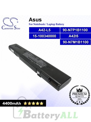 CS-AUL5NB For Asus Laptop Battery Model 15-100340000 / 90-N7M1B1100 / 90-N7P1B1100 / A42l5 / A42-L5