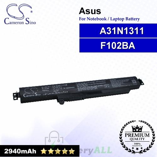 CS-AUN1311NB For Asus Laptop Battery Model 0B110-00260000 / 0B110-00260100 / A31N1311 / F102BA
