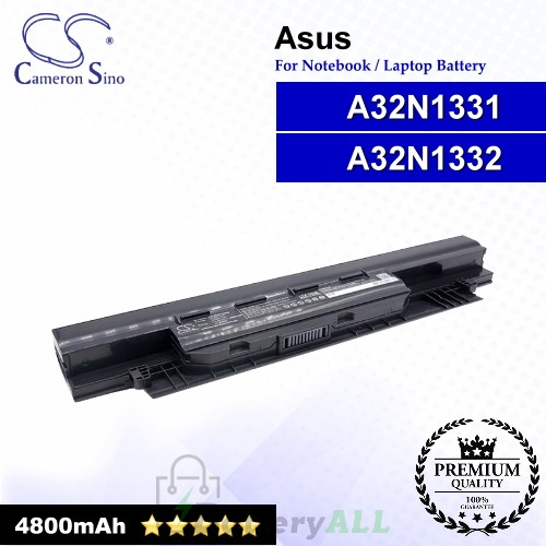 CS-AUN133NB For Asus Laptop Battery Model A32N1331 / A32N1332