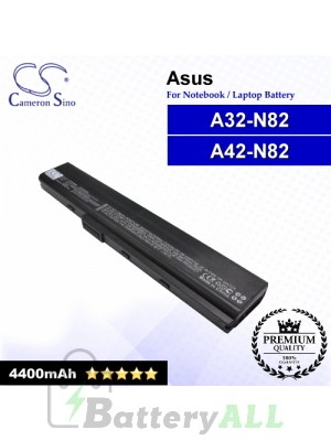 CS-AUN82NB For Asus Laptop Battery Model 07G016G81875 / A32-N82 / A42-N82