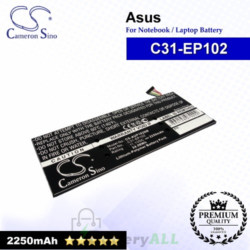 CS-AUP102NB For Asus Laptop Battery Model C31-EP102