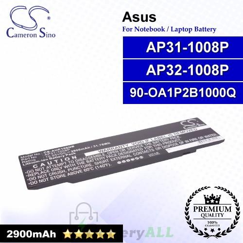 CS-AUP108NB For Asus Laptop Battery Model 90-OA1P2B1000Q / AP31-1008P / AP32-1008P