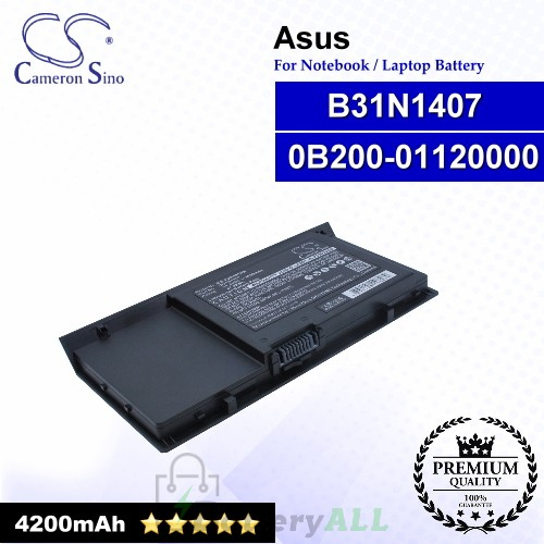CS-AUP451NB For Asus Laptop Battery Model 0B200-01120000 / B31N1407