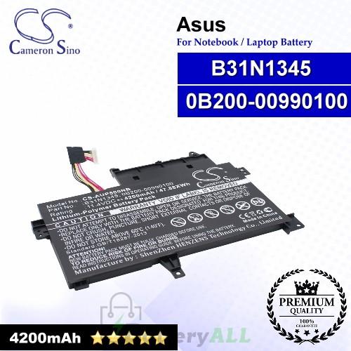 CS-AUP500NB For Asus Laptop Battery Model 0B200-00990100 / B31N1345