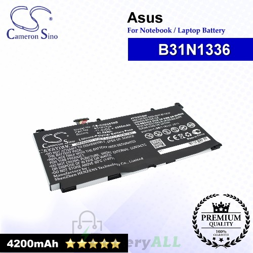 CS-AUR553NB For Asus Laptop Battery Model B31N1336