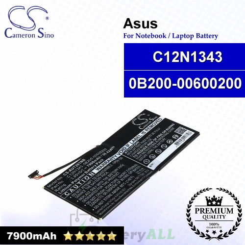 CS-AUT201NB For Asus Laptop Battery Model 0B200-00600200 / C12N1343