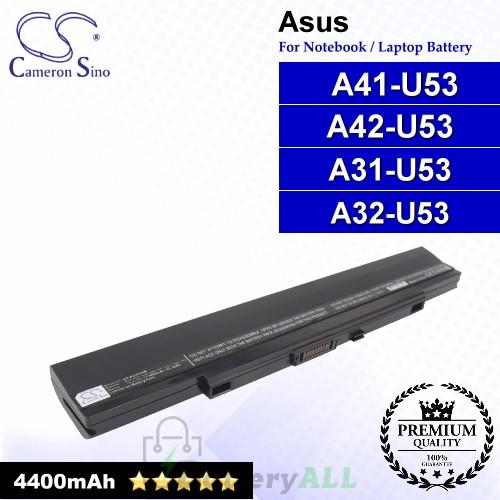 CS-AUU53NB For Asus Laptop Battery Model A31-U53 / A32-U53 / A41-U53 / A42-U53