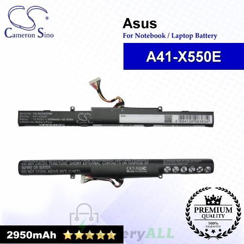 CS-AUX450NB For Asus Laptop Battery Model A41-X550E