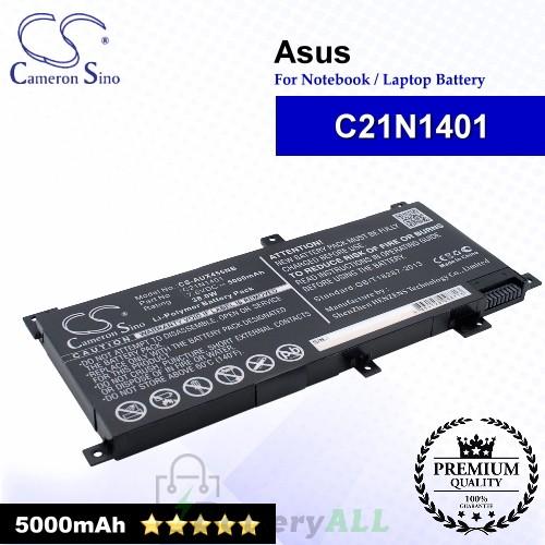 CS-AUX455NB For Asus Laptop Battery Model 0B200-01130200 / C21N1401 / C21N1409 / PP21AT149Q-1