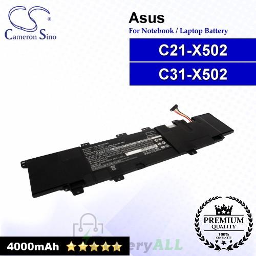 CS-AUX502NB For Asus Laptop Battery Model C21-X502 / C31-X502