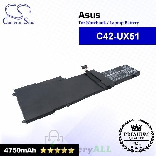 CS-AUX510NB For Asus Laptop Battery Model C42-UX51