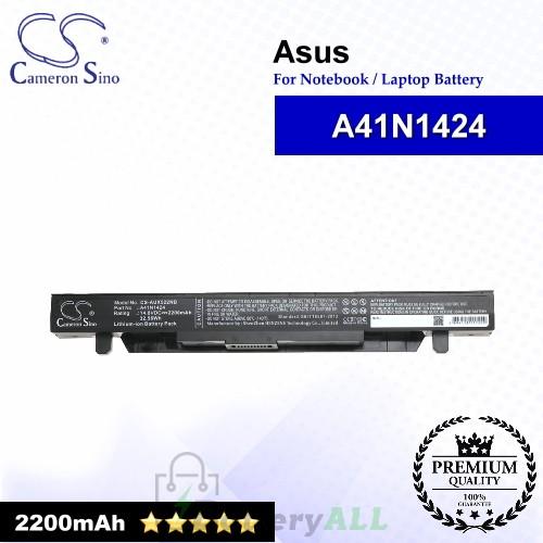 CS-AUX522NB For Asus Laptop Battery Model A41N1424