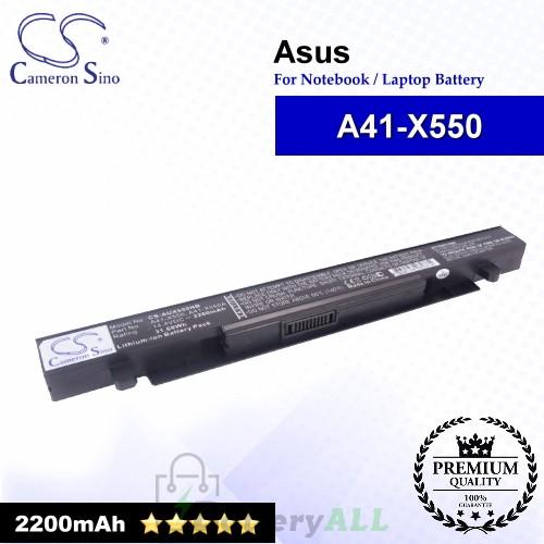 CS-AUX550NB For Asus Laptop Battery Model A41-X550 / A41-X550A