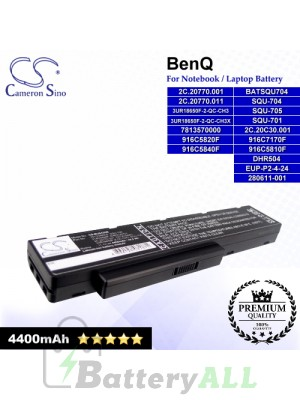 CS-BUS42NB For BenQ Laptop Battery Model 2C.20770.001 / 2C.20C30.001 / 7813540000 / 7813570000 / 916C5810F