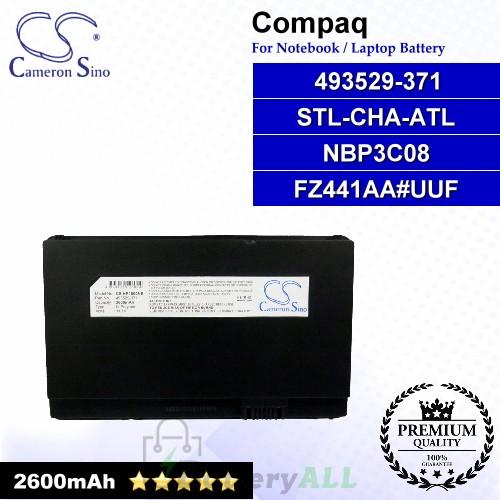 CS-HP1000NB For Compaq Laptop Battery Model 493529-371 / 504610-001 / FZ441AA / FZ441AA#UUF / HSTNN-OB80