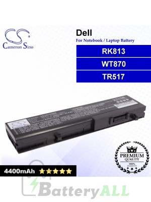 CS-DE1435NB For Dell Laptop Battery Model RK813 / TR517 / WT870