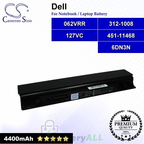 CS-DE1470NB For Dell Laptop Battery Model 062VRR / 127VC / 312-1008 / 451-11468 / 6DN3N