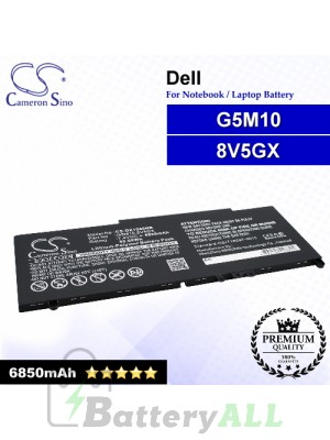 CS-DE1550NB For Dell Laptop Battery Model 079VRK / 0G5M10 / 0WYJC2 / 451-BBLN / 6MT4T / 79VRK / 8V5GX