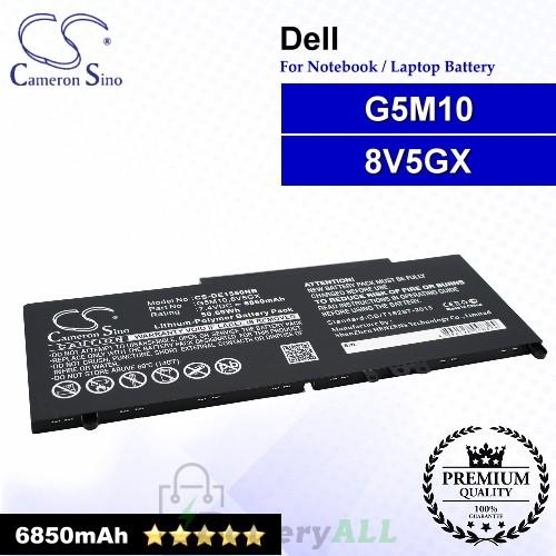 CS-DE1550NB For Dell Laptop Battery Model 079VRK / 0G5M10 / 0WYJC2 / 451-BBLN / 6MT4T / 79VRK / 8V5GX