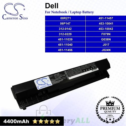 CS-DE2100HB For Dell Laptop Battery Model 00R271 / 01P255 / 04H636 / 06P147 / 0F079N / 0G038N / 0J017N