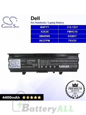 CS-DE4020NB For Dell Laptop Battery Model 0KCFPM / 0M4RNN / 312-1231 / FMHC10 / KG9KY / TKV2V / W4FYY