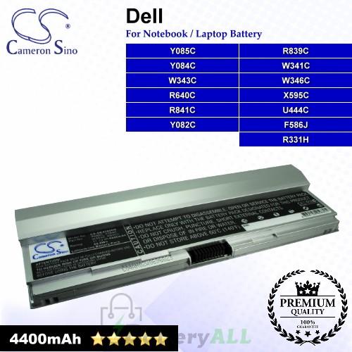 CS-DE4200HB For Dell Laptop Battery Model F586J / R331H / R640C / R839C / R841C / U444C / W341C / W343C