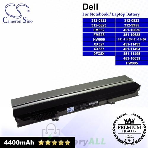 CS-DE4300NB For Dell Laptop Battery Model 0FX8X / 312-0822 / 312-0823 / 312-9955 / 451-10636 / 451-10638