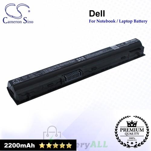 CS-DE6220NB For Dell Laptop Battery Model 09K6P / 0F7W7V / 11HYV / 312-1239 / 312-1241 / 312-1381 / 312-1446