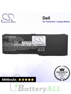 CS-DE6400HB For Dell Laptop Battery Model 0JN149 / 312-0427 / 312-0428 / 312-0460 / 312-0461 / 312-0466 / 312-0467
