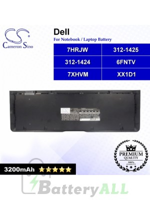 CS-DE6430NB For Dell Laptop Battery Model 312-1424 / 312-1425 / 6FNTV / 7HRJW / 7XHVM / 9KGF8 / TRM4D