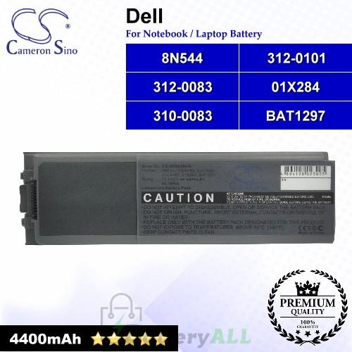 CS-DED800NB For Dell Laptop Battery Model 01X284 / 310-0083 / 312-0083 / 312-0101 / 8N544 / BAT1297