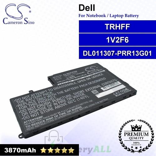 CS-DEN155NB For Dell Laptop Battery Model 01V2F / 01V2F6 / 0DFVYN / 1V2F6 / 58DP4 / 5MD4V / DFVYN