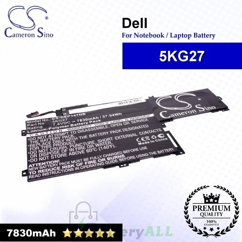 CS-DEP147NB For Dell Laptop Battery Model 5KG27 / C4MF8